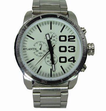 228902e9639 Relogio masculino atlantis a3309 fundo branco - Relógio Masculino ...