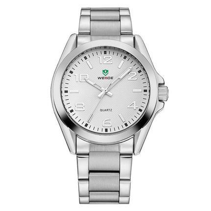 ea97ff9e9d7 Relógio Masculino Weide Analógico WH801G Prata e Branco - Relógio Masculino  - Magazine Luiza