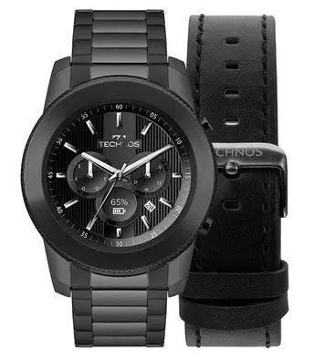 Relógio Smartwatch Technos Connect Masculino M1AB 4P - Relógio ... b3bb2531d3