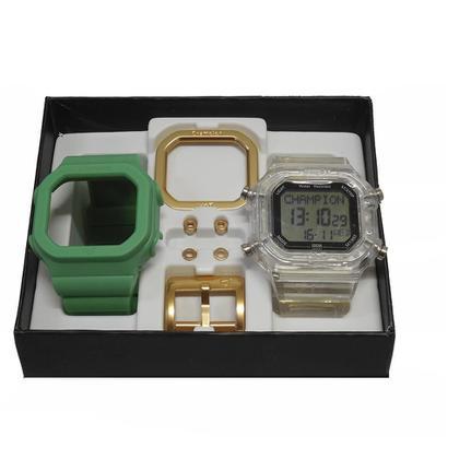 85a785ef48e Relogio Unissex Champion Digital Cp40180x - Troca Pulseira -  Verde Transparente - Relógio Masculino - Magazine Luiza