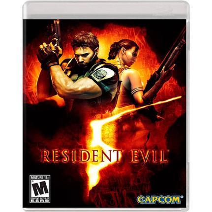 Jogo Resident Evil 5 - Playstation 3 - Capcom