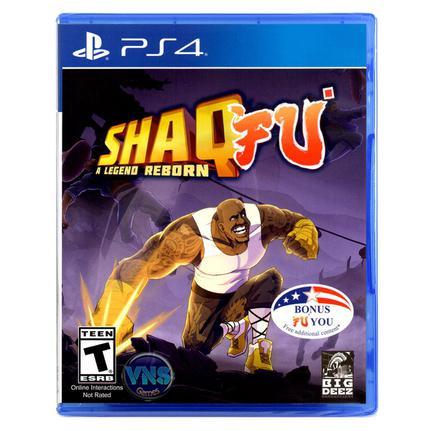 Jogo Shaq Fu a Legend Reborn - Playstation 4 - Big Deez Productions