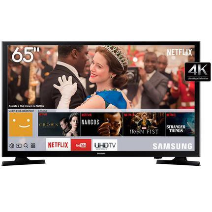 "Tv 65"" Led Samsung 4k - Ultra Hd Smart - Be65n"