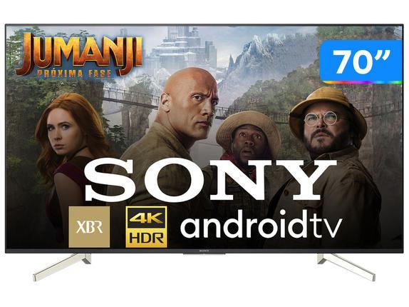 "Tv 70"" Led Sony 4k - Ultra Hd Smart - Xbr-70x835f"