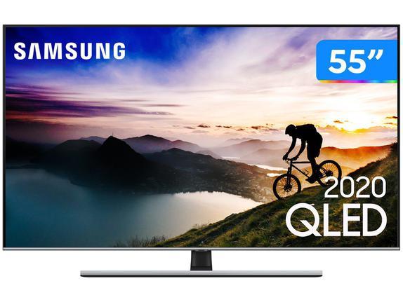 """Tv 55"""" Qled Samsung 4k - Ultra Hd Smart - Qn55q70t"""