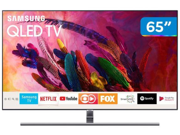 "Tv 65"" Qled Samsung 4k - Ultra Hd Smart - Qn65q7fn"