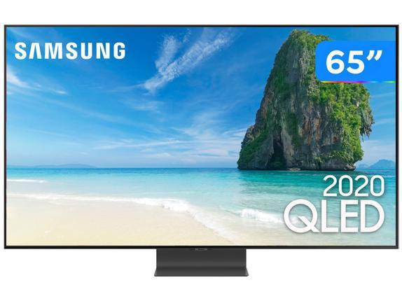 """Tv 65"""" Qled Samsung 4k - Ultra Hd Smart - Qn65q95t"""