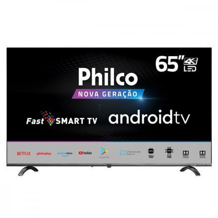 """Tv 65"""" Led Philco 4k - Ultra Hd - Ptv65q20agbls"""