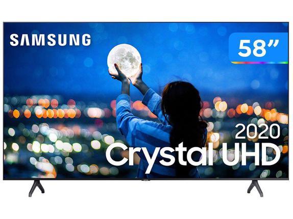 "Tv 58"" Led Samsung 4k - Ultra Hd Smart - Un58tu7000"