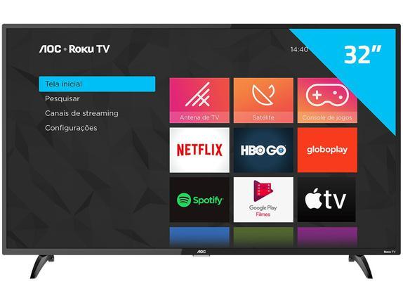"""Tv 32"""" Led AOC Hd Smart - 32s5195/78g"""
