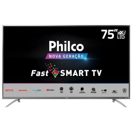 """Tv 75"""" Led Philco 4k - Ultra Hd Smart - Ptv75e30st"""