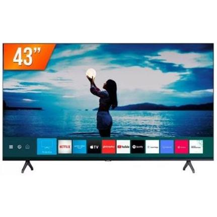 "Tv 43"" Led Samsung 4k - Ultra Hd Smart - Un43tu7020"