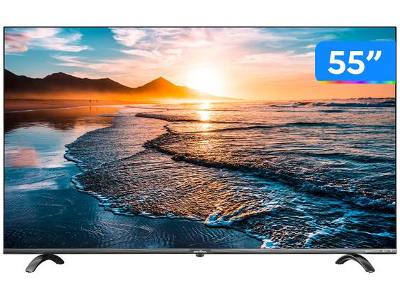 "Tv 55"" Led Britania 4k - Ultra Hd - Btv55q20n5sbl"