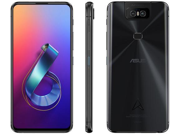 Celular Smartphone Asus Zenfone 6 512gb Preto - Dual Chip