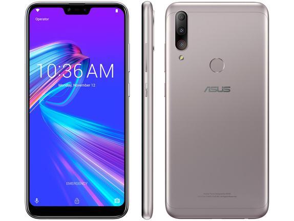 Celular Smartphone Asus Zenfone Shot Plus Zb634kl 64gb Prata - Dual Chip