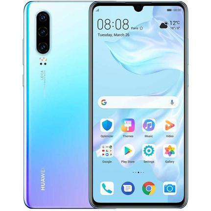 Celular Smartphone Huawei P30 L29 128gb Azul - Dual Chip