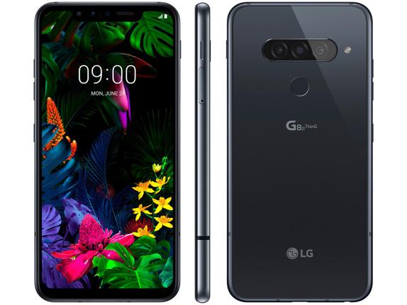 Celular Smartphone LG G8s Thinq G810e 128gb Branco - Dual Chip