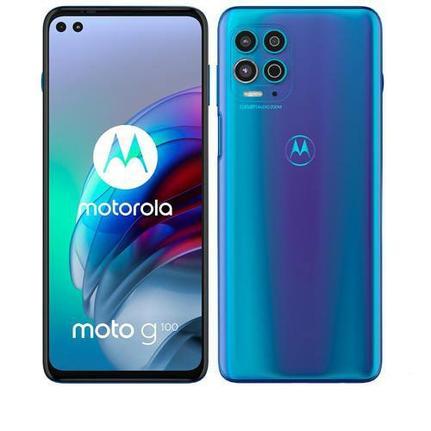 Celular Smartphone Motorola Moto G100 Xt2125 256gb Azul - Dual Chip