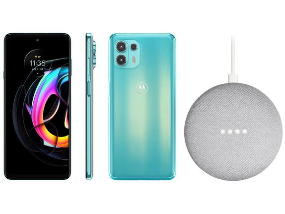 Celular Smartphone Motorola Edge 20 Lite Xt2139 128gb Verde - Dual Chip