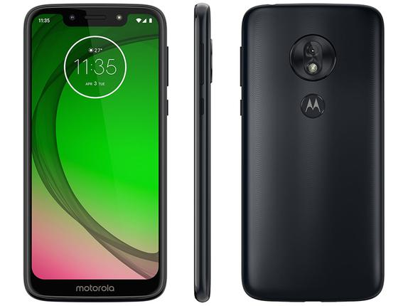 Celular Smartphone Motorola Moto G7 Play Xt1952 32gb Dourado - Dual Chip