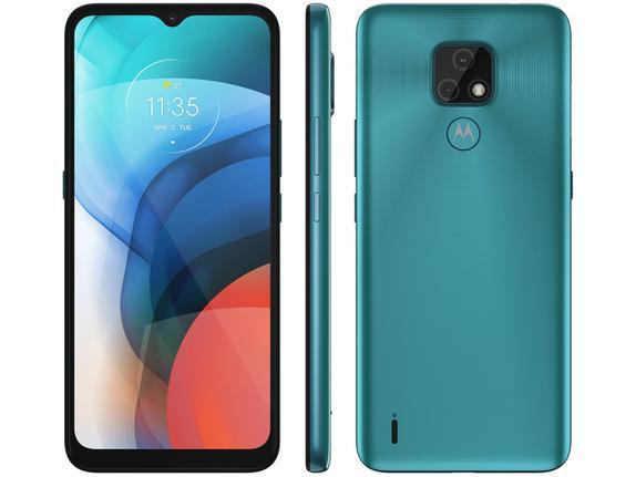 Celular Smartphone Motorola Moto E7 32gb Verde - Dual Chip