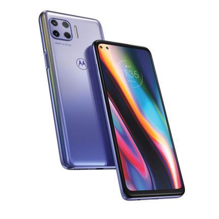 Celular Smartphone Motorola Moto G 5g Plus 128gb Azul - Dual Chip