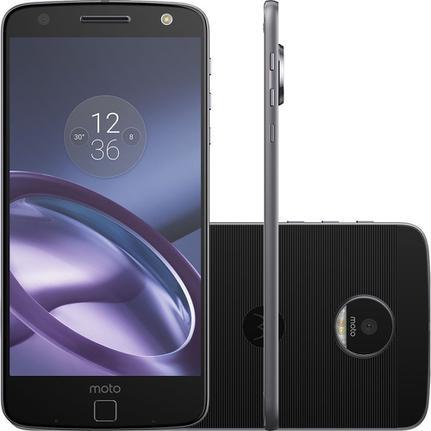 Celular Smartphone Motorola Moto Z Style Xt1650 64gb Preto - Dual Chip