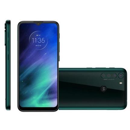 Celular Smartphone Motorola One Fusion Xt2073 64gb Verde - Dual Chip