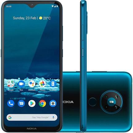 Celular Smartphone Nokia 5.3 128gb Verde - Dual Chip