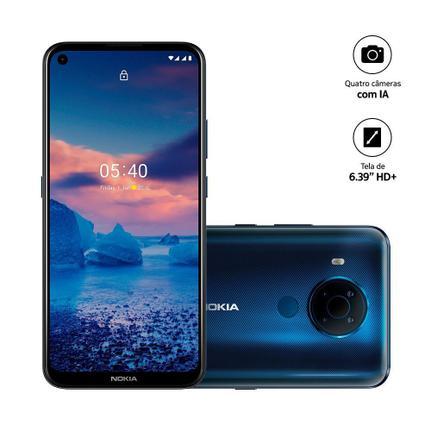 Celular Smartphone Nokia 5.4 128gb Azul - Dual Chip