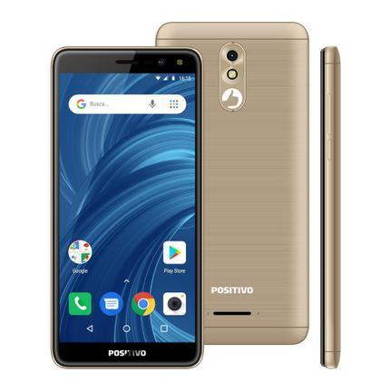Celular Smartphone Positivo Twist 2 Pro S532 32gb Dourado - Dual Chip