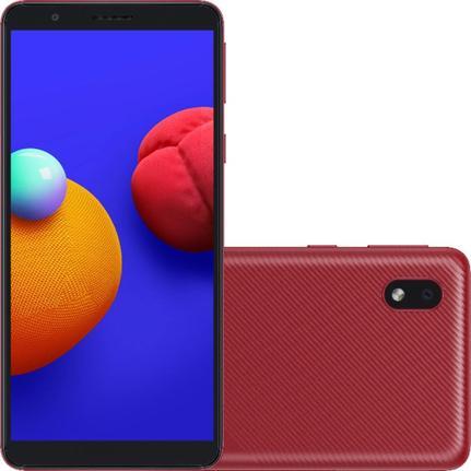 Celular Smartphone Samsung Galaxy A01 Core A013m 32gb Vermelho - Dual Chip