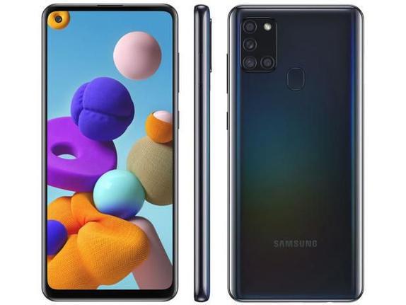 Celular Smartphone Samsung Galaxy A12s 64gb Preto - Dual Chip