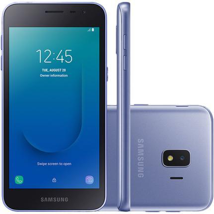 Celular Smartphone Samsung Galaxy J2 Core J260m 16gb Prata - Dual Chip