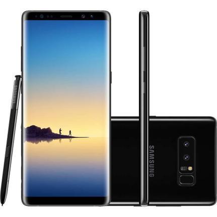 Celular Smartphone Samsung Galaxy Note 8 N950f 128gb Preto - Dual Chip