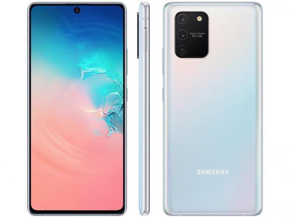 Celular Smartphone Samsung Galaxy S10 Lite G770f 128gb Branco - Dual Chip