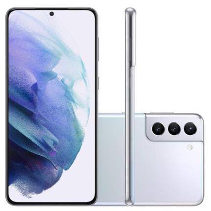 Celular Smartphone Samsung Galaxy S21+ G996b 128gb Prata - Dual Chip