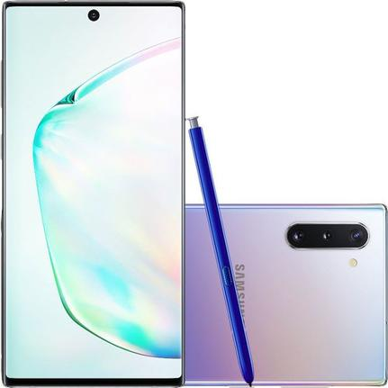 Celular Smartphone Samsung Galaxy Note 10 N970f 256gb Prata - Dual Chip