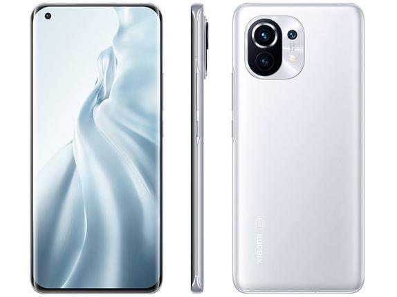 Celular Smartphone Xiaomi Mi 11 256gb Branco - Dual Chip