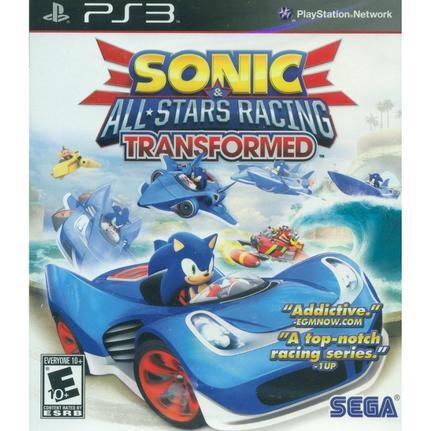 Jogo Sonic & All-stars Racing Transformed - Xbox 360 - Sega