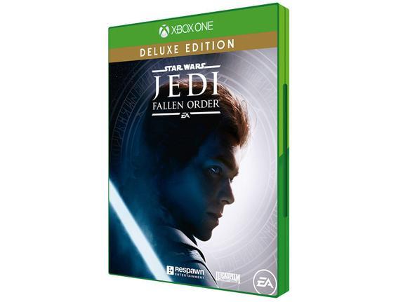 Jogo Star Wars Jedi Fallen Order Deluxe Edition - Xbox One - Ea Games