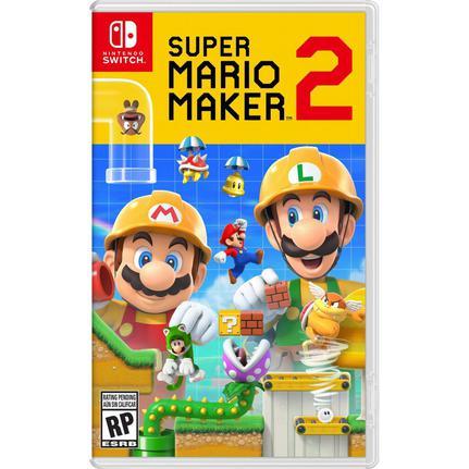Jogo Super Mario Maker 2 - Switch - Nintendo