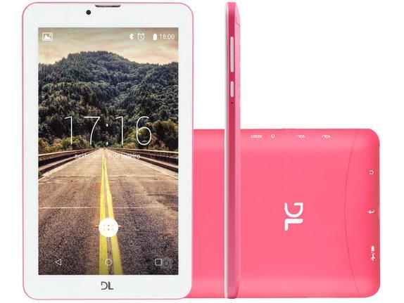 Tablet Dl Mobi Tx384 Rosa 8gb 3g