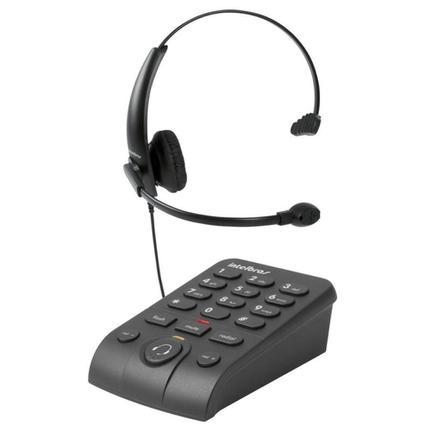Fone de Ouvido Headset Intelbras Hsb50