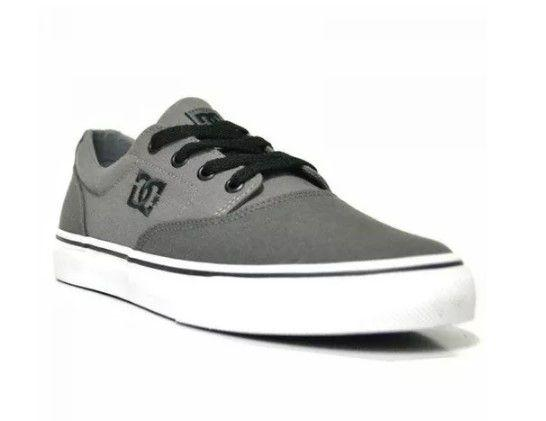 sports shoes c0213 1a9cd Tênis Dc Shoes New Flash Evo 2 Tx Masculino - Cinza