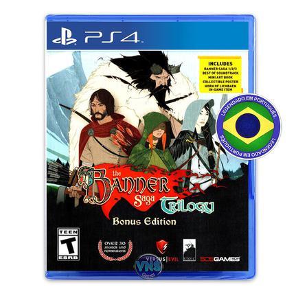 Jogo The Banner Saga Trilogy - Bonus Edition - Playstation 4 - 505 Games