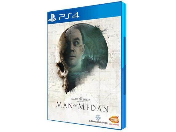 Jogo Man Of Medan - Playstation 4 - Bandai Namco Games
