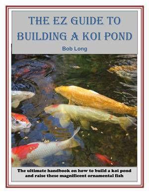 The Ez Guide To Building A Koi Pond Kobo Editions Livros De Artesanato Magazine Luiza
