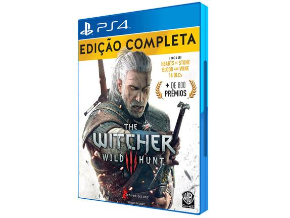 Jogo The Witcher 3 Wild Hunt Complete Edition - Playstation 4 - Bandai Namco Games