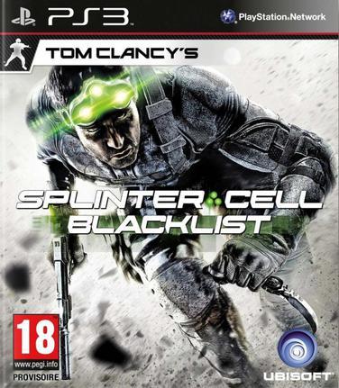Jogo Tom Clancy's Splinter Cell: Blacklist - Playstation 3 - Ubisoft